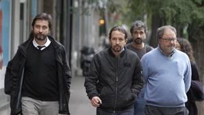 Iglesias ensaya en Madrid su alianza contra Errejón