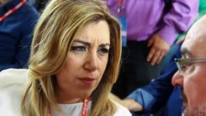 Susana Díaz, que no ha pronunciado la palabra «abstención», apela a la «unidad» del PSOE para ganar elecciones