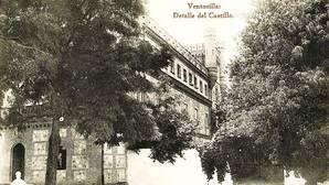 Palacio de «La Ventosilla», en Polán, uno de los cazaderos más reconocidos de la provincia de Toledo (Colección de postales del Centro de Estudios de Castilla-La Mancha, UCLM)
