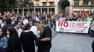 El 80% de los estudiantes secundan la huelga en la región