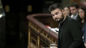 Gabriel Rufián, política a golpe de tuit