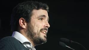 Garzón tacha de «hipócrita» el discurso de Rufián