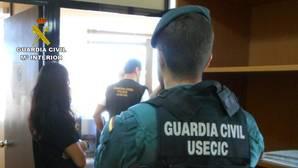 Desmantelan una trama que se hacía pasar por la Guardia Civil