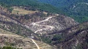 Declaran culpable al acusado del incendio forestal de Poyatos