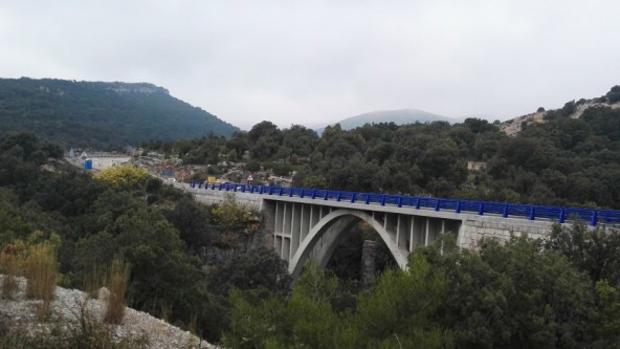 Imagen del puente rehabilitado