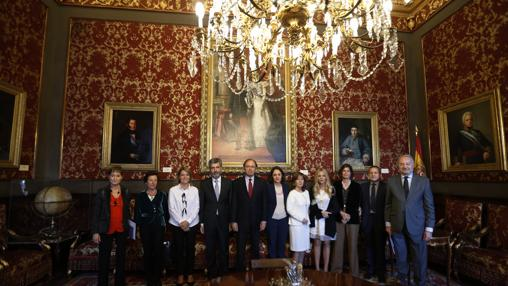 Intervinientes en la apertura del Congreso de Violencia de Género del CGPJ