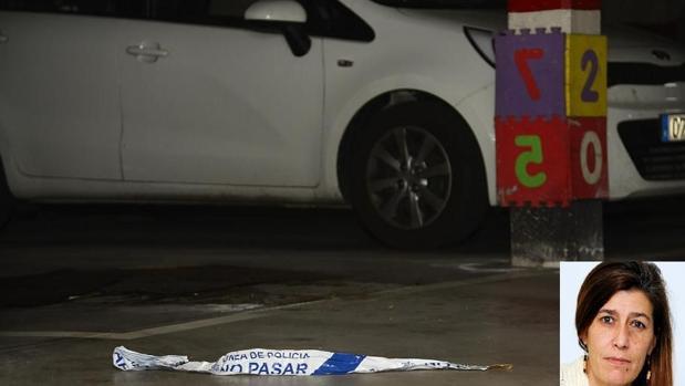 Lugar donde Yolanda Pascual fue atacada por su expareja