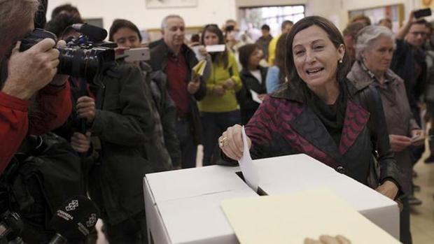 Carme Forcadell, presidenta del Parlamento catalán
