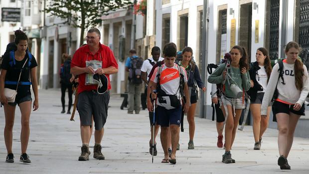 A 2.442 peregrinos del récord absoluto en el Camino de Santiago