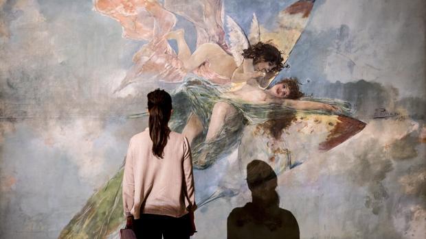 Imagen de una de las obras de la exposición