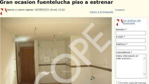 Espinar pretendía vender su piso por 186.000 euros «no negociables», 10.000€ más de los que consiguió