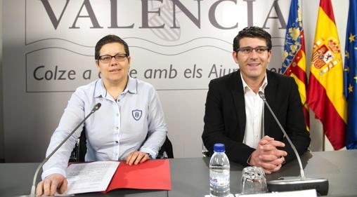 Imagen de Isabel García y Jorge Rodríguez