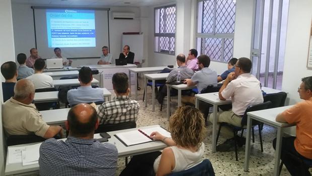 Imagen de una Asamblea del Colegio Oficial de Ingeniería Informática de la Comunidad Valenciana