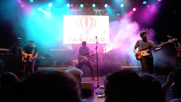 Imatge d'un concert de la banda valenciana Tardor