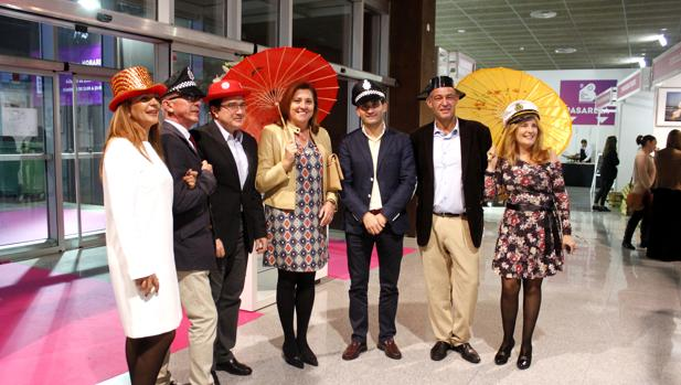 Los concejales Teo García y Rosana Rodríguez han asistido este viernes a la inauguración