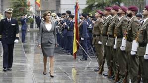 Cospedal: «Las Fuerzas Armadas son el baluarte de nuestra integridad democrática»