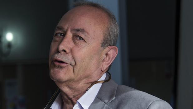 El jeuz José Castro, el pasado mes de mayo