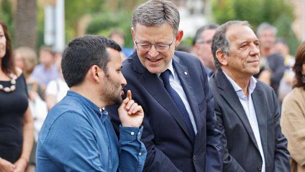 Marzá conversa con Puig en un acto público reciente