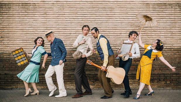 La banda sevillana de swing, «O Sister!»