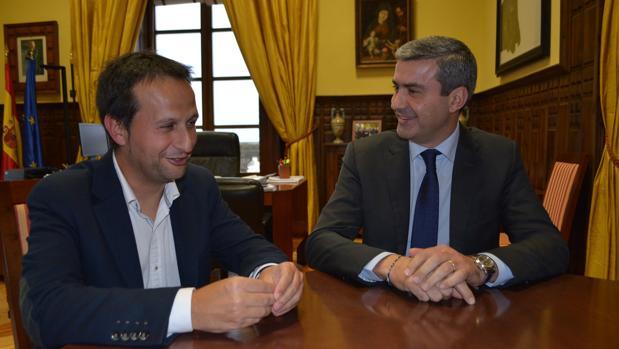 José Ángel Fernández y Álvaro Gutiérrez