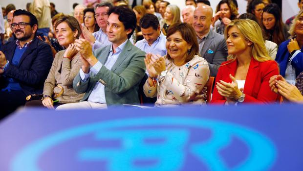 Isabel Bonig, en la jornada «Valencia escucha» celebrada hoy