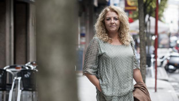 María Quintas tras la conversación mantenida con ABC en Orense