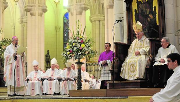 Madrid celebra los 80 años de Rouco Varela y sus 40 como obispo