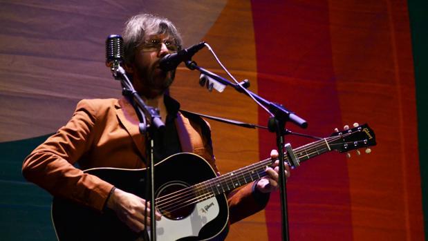 Xoel López, ayer en el Deleste Festival en Espai Rambleta