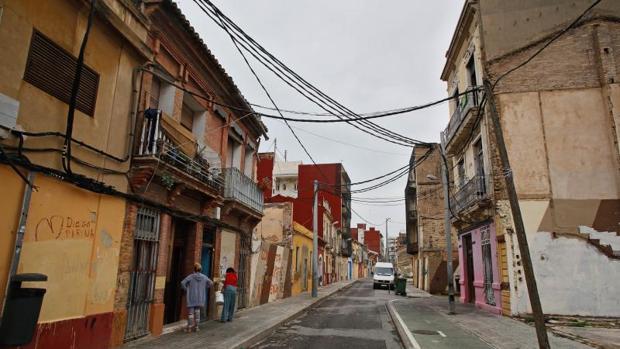 Imagen de archivo del barrio del Cabanyal en Valencia