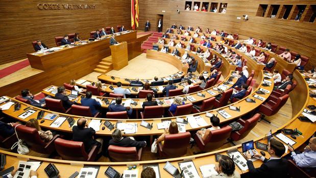 Imagen de archivo de las Cortes Valencianas