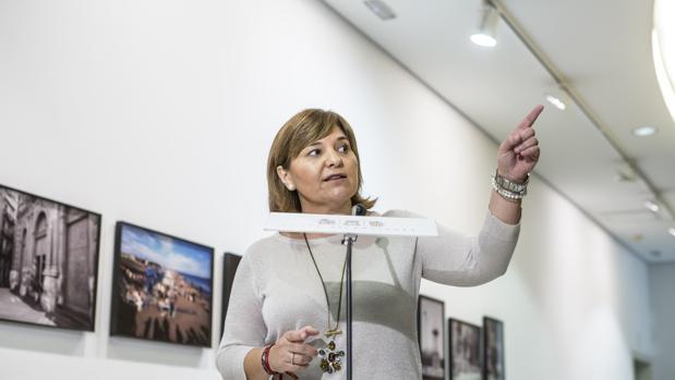Imagen de Isabel Bonig tomada en las Cortes Valencianas