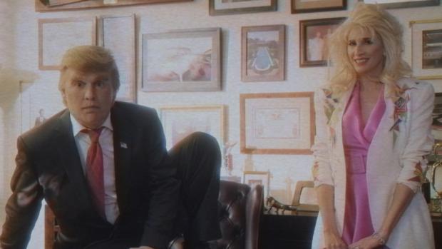 Imagen de un irreconocible Johhny Depp en el documental