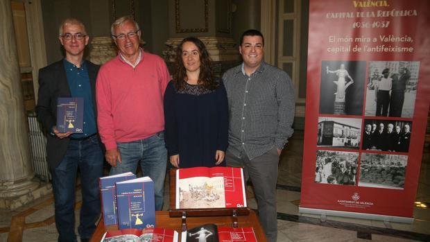Imagen de Ribó en la presentación del libro sobre la república
