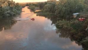 Se reanuda la búsqueda del cazador que cayó al río en Añover