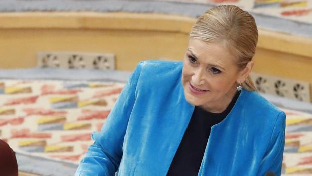La presidenta del la Comunidad de Madrid, Cristina Cifuentes