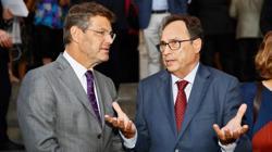 Soler, con el ministro de Justicia