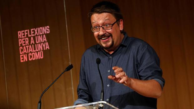 Domènech, durante una conferencia la semana pasada en Barcelona