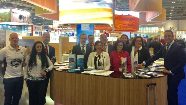 Delegación de Fuerteventura en la World Travel Market de Londres