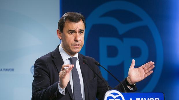 El vicesecretario de Organización del Partido Popular, Fernando Martínez-Maillo