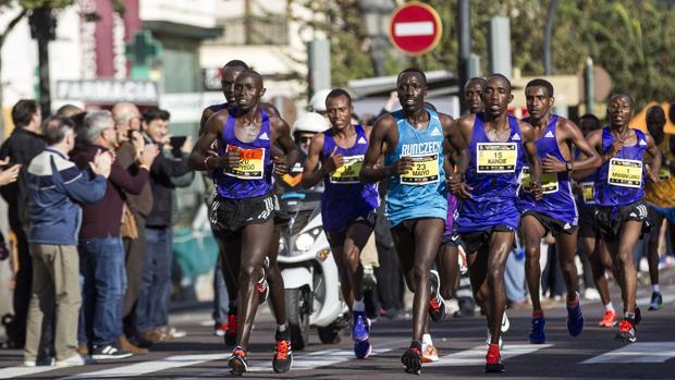 Imagen de la edición de 2015 del Maratón Valencia
