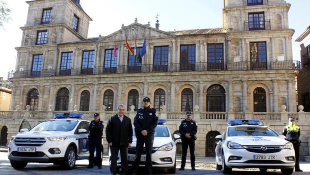 Los vehículos de la Policía Local de Toledo se suelen cambiar cada cuatro años