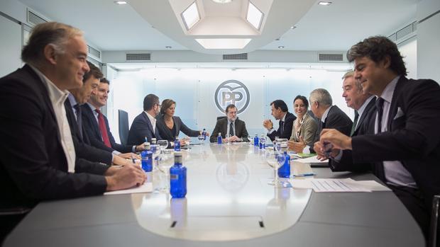 El comité de dirección del PP, reunido
