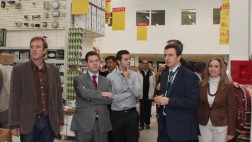 Emiliano García-Page, entonces alcalde de Toledo, inauguró hace cinco años este centrocomercial