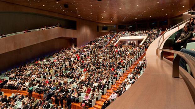 Imagen de la sala del Auditorio de Vigo
