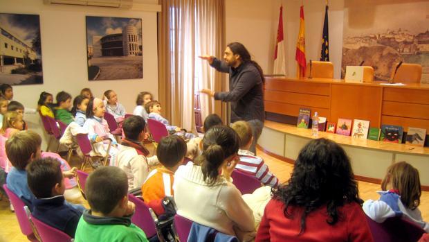 Animación a la lectura en la Biblioteca de Castilla-La Mancha