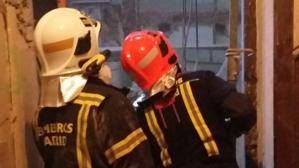 Muere el trabajador atrapado entre los escombros de un derrumbe en Lagasca
