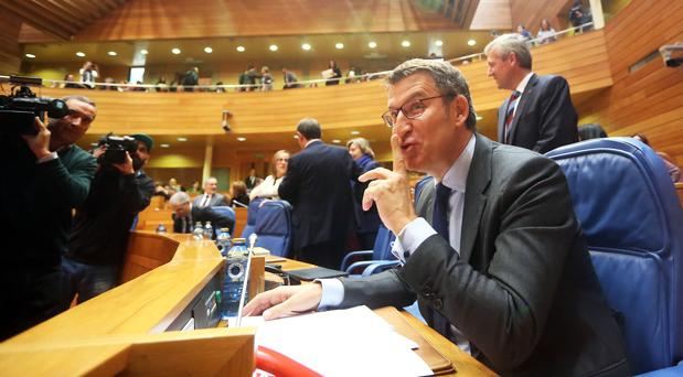 Núñez Feijóo pronuncia este martes su discurso de investidura en el Parlamento gallego