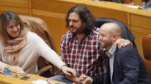 Villares y Pontón dan la espalda a la oferta de diálogo de Feijóo para iniciar la legislatura