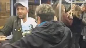 La fiesta loca que se improvisó con Shakira en un vagón de Metro y que hace bailar a Facebook
