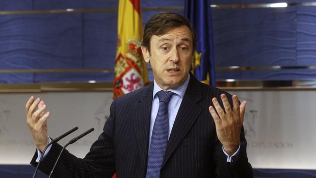 El portavoz parlamentario del PP, Rafael Hernando